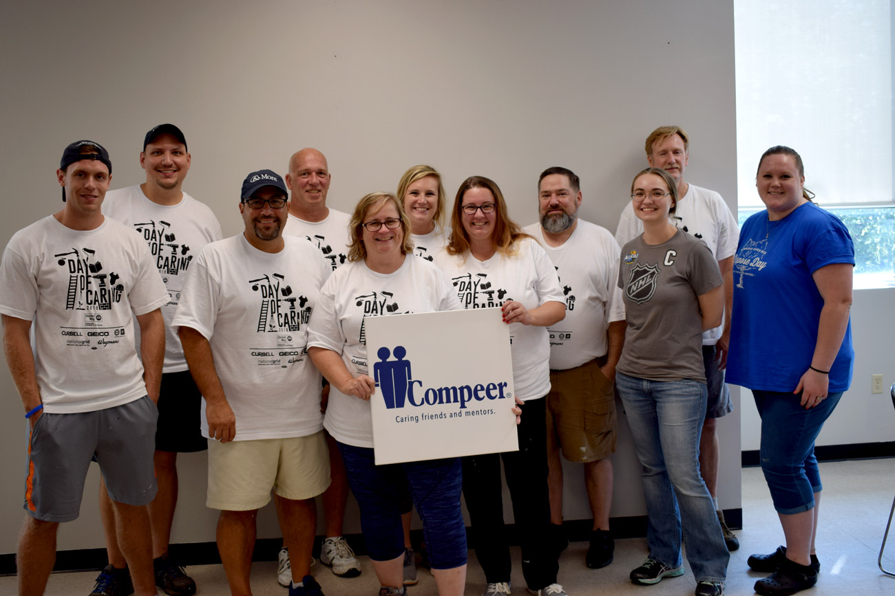 Day of caring group